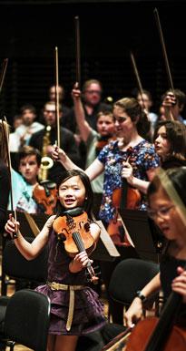 La pratique collective dans les orchestres Démos