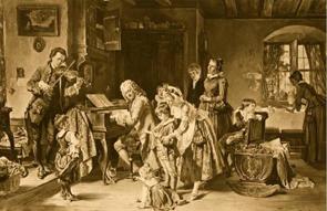 Johann Sebastian Bach en famille